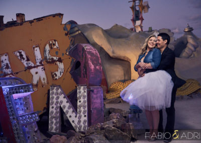 Neon-Museum-Sunset-Wedding-Session-18